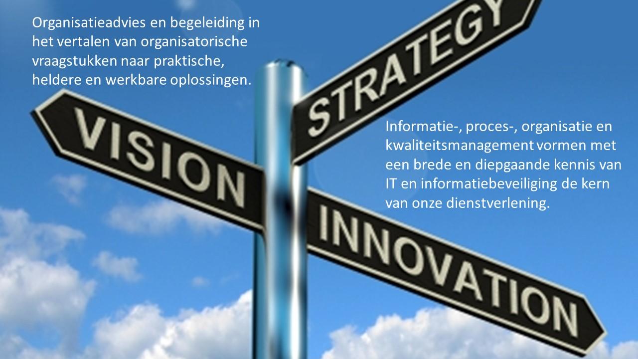 Bedrijfsadvies bij organisatieontwikkeling; ook als klankbord