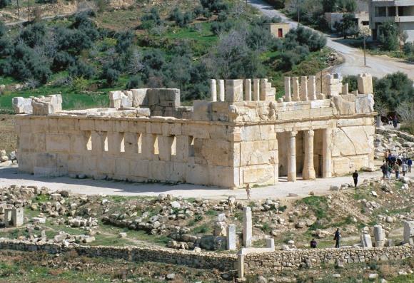 """Tyrus jenseits des Jordan, das heutge """"Iraq al-Amir"""" in Jordanien"""