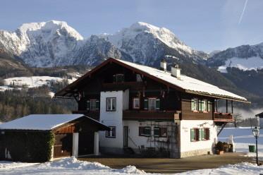 Ferienwohnung Schönau am Königssee im Winter