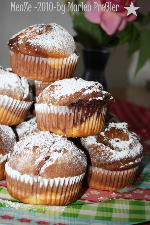 Schokokuchen, Cupcake, Muffin, Marlen Preßler, MenZe 2010, Kuchenrezept
