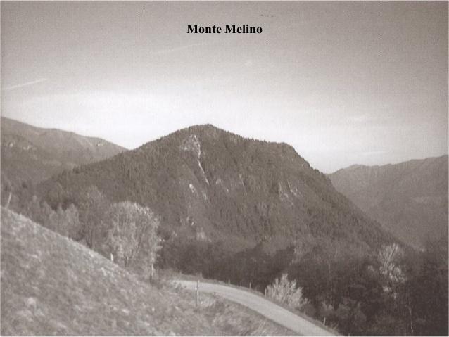 Monte Melino in una vecchia foto
