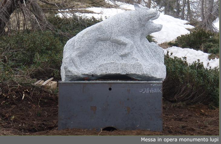 Monumento in onore ai Lupi di Toscana