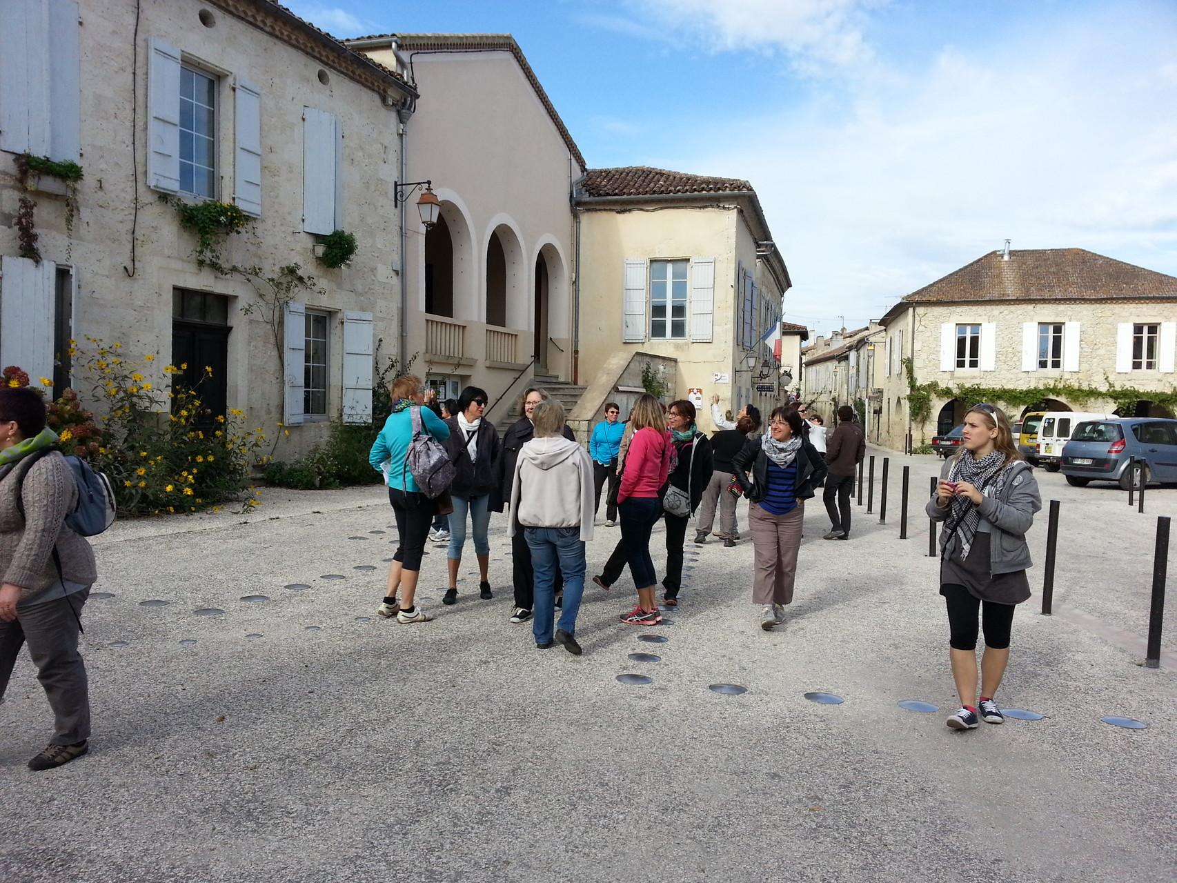 Blalade dans la petite commune de La Romieu