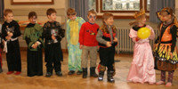 Maskenball Kindergarten