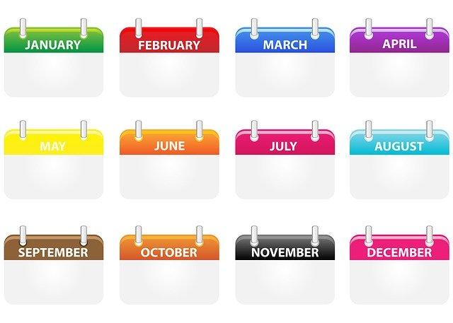 Jeden Monat Dividenden erhalten - mit Aktien die monatlich ausschütten - Kalender- Aktien - börse