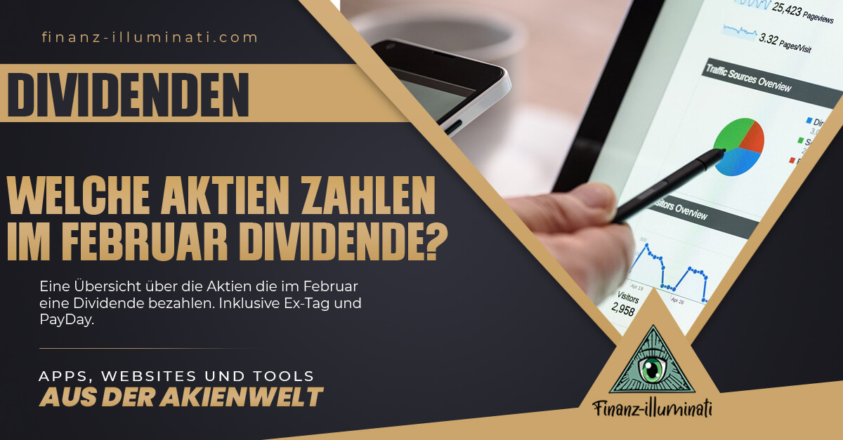 Dividendenkalender 2021 - Welche Aktien zahlen im Februar Dividende?