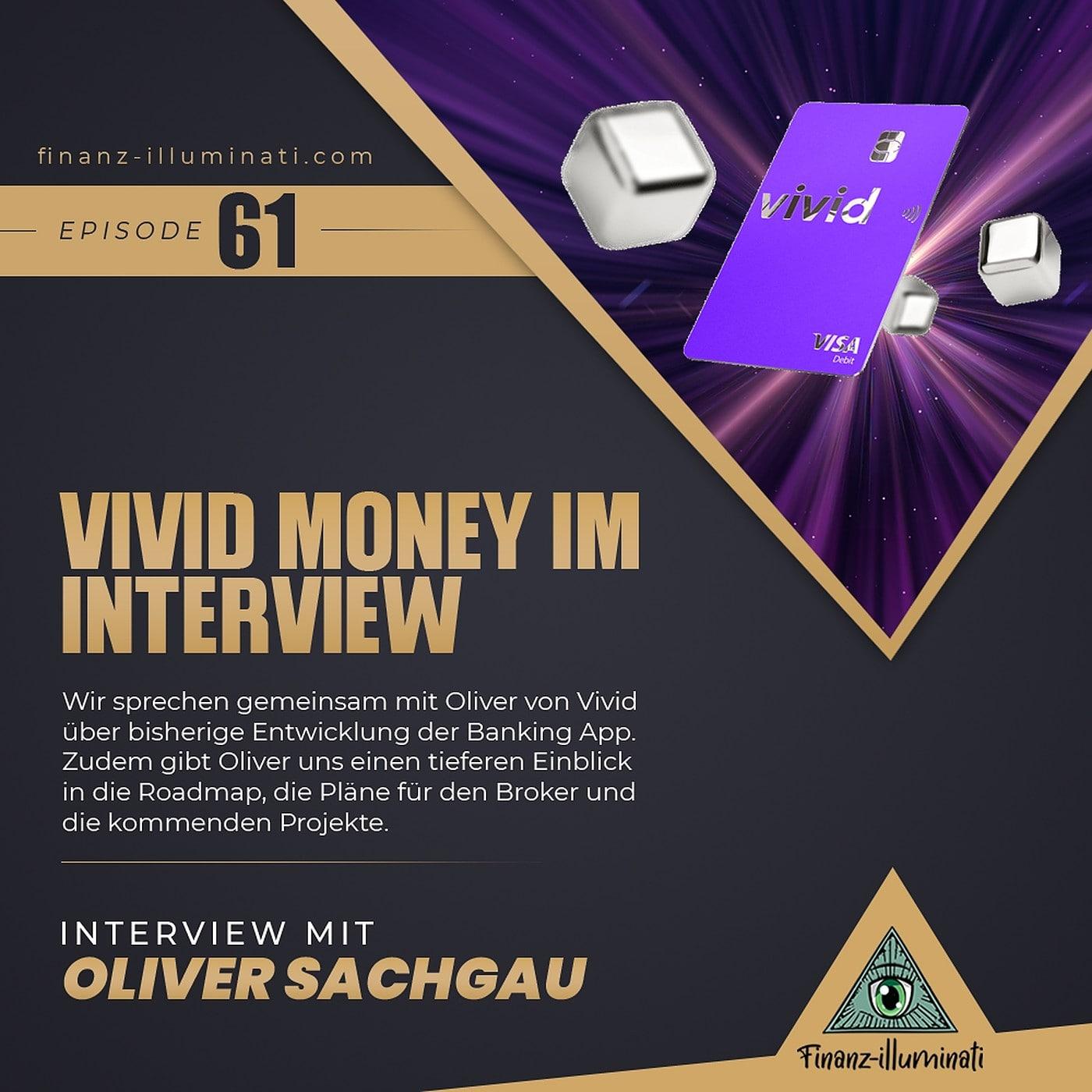 Vivid Money im Interview - Pläne für Broker, Cashback, Kreditkarten Top-up und die Zukunft?