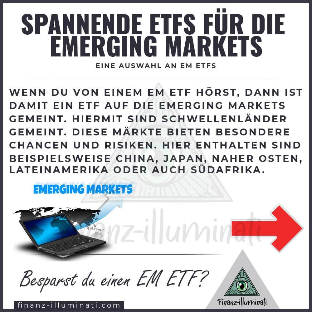 Welcher Emerging Markets ETF ist der beste?