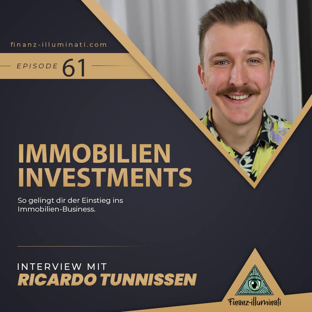 Der Einstieg ins Immobilien-Business mit Ricardo Tunissen
