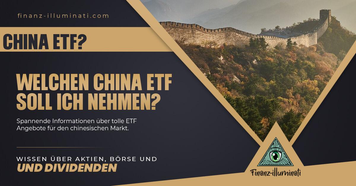 Den richtigen China ETF für dich finden