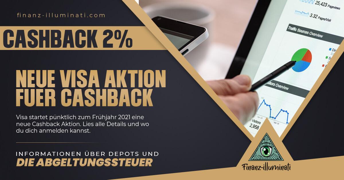 Neue Visa Cashback Aktion vom 10.03. bis 06.04.2021