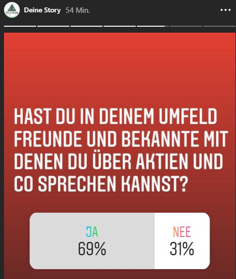 Reden Deutsche mit ihren Freunden und Bekannten über Aktien?