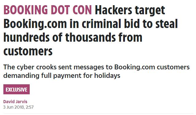 Hacker greifen Booking Holdings an - Gefahr für die Booking Aktie
