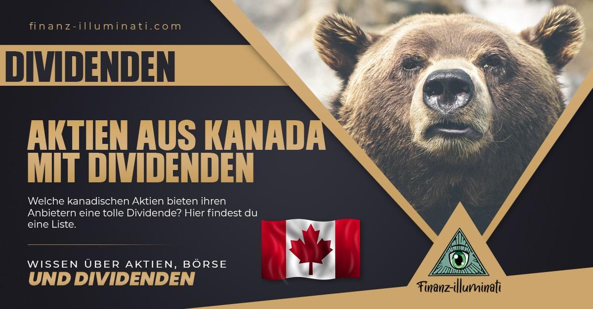 Übersicht kanadische Dividenden-Aktien (Kanada)