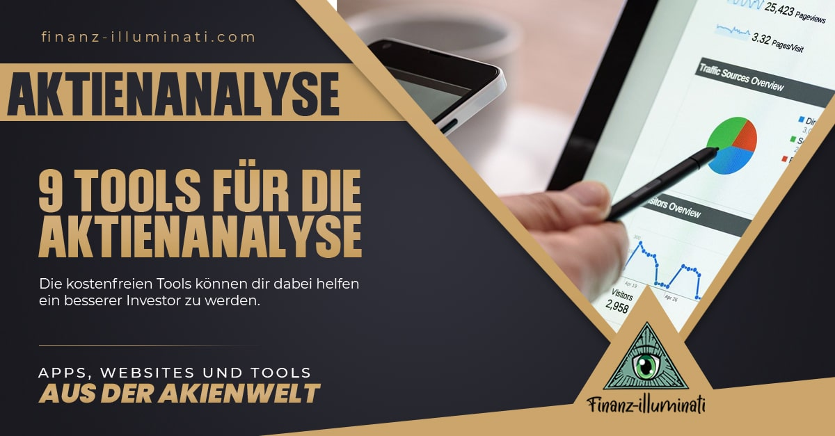 9 Tools und Websites zur Aktienanalyse