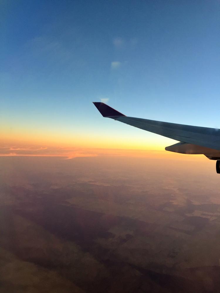 6:00 Anflug auf Sydney