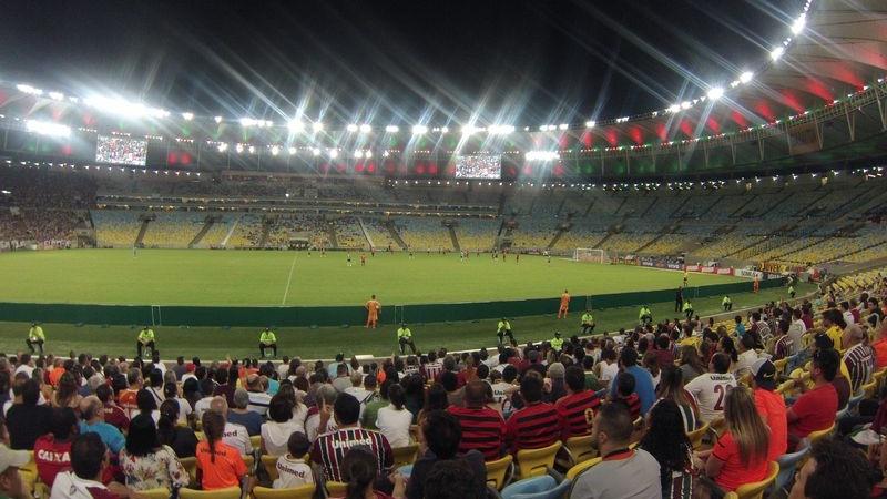 Maracana Stadion, Rio de Janeiro