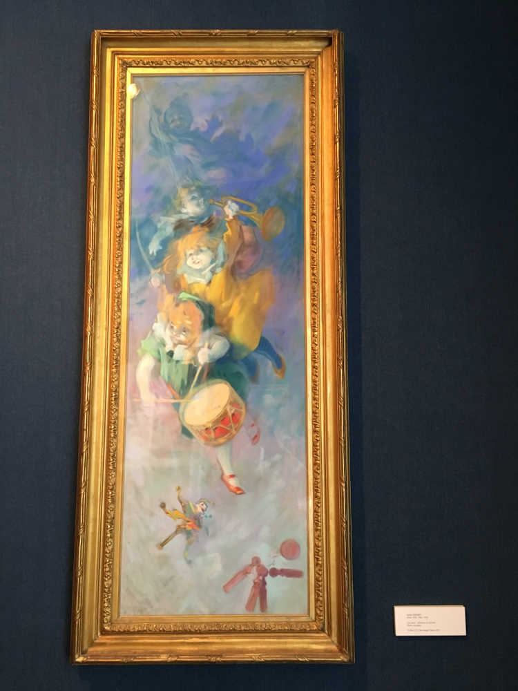 ジュール・シェレという画家。ちょっと不気味なところも良い