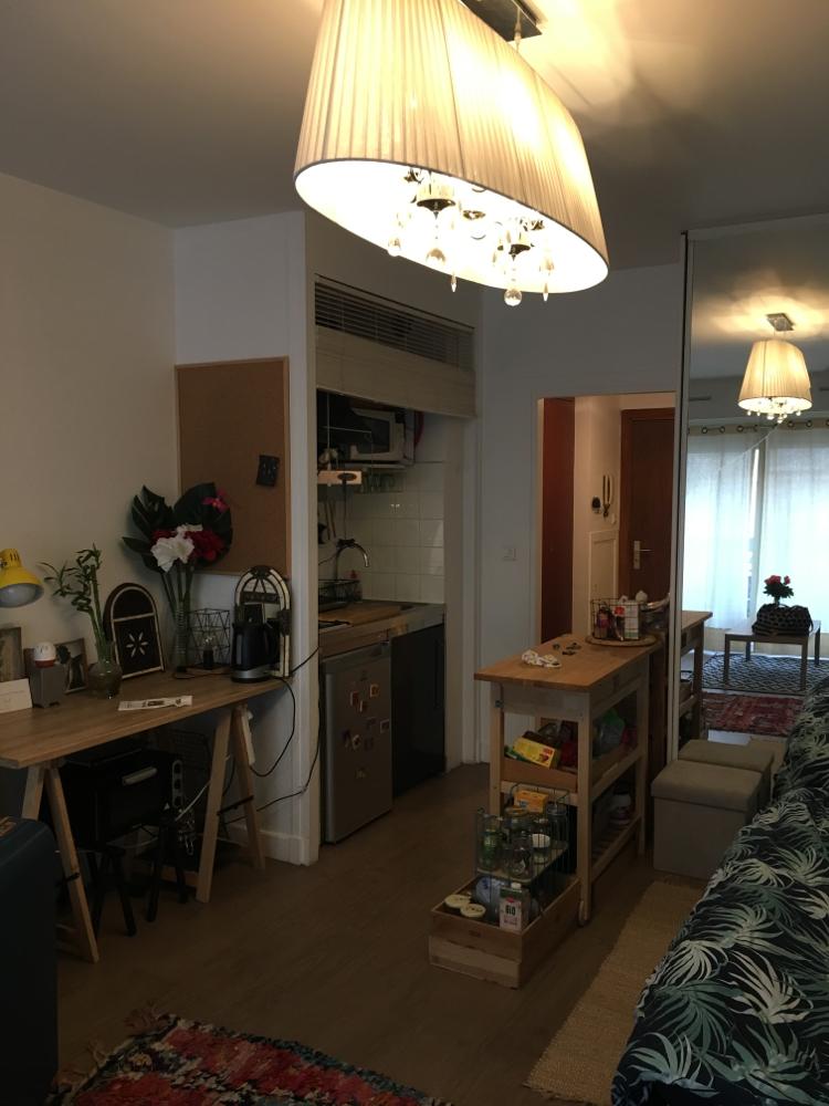 パリで泊まった家。最寄りはJasminとRanelagh