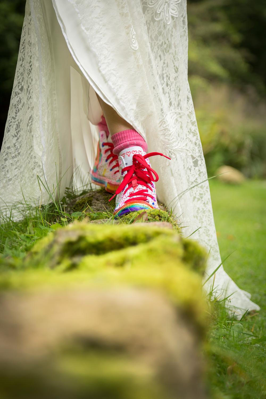 Jup, ihr seht richtig: Das sind meine Schuhe! Von meinen beiden Mädels designed...