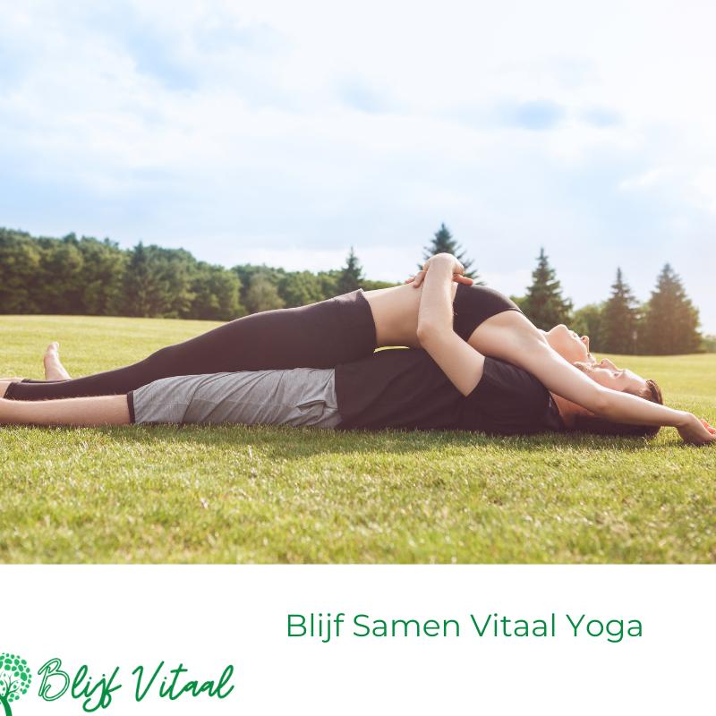 Blog 73: Blijf Samen Vitaal Yoga
