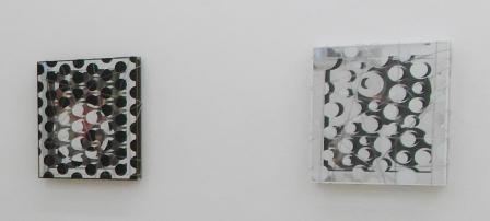 ROBERT GSCHWANTNER, Jason mit dem Goldenen Vlies I / König Midas, PVC-Schläuche, Wasser aus Las Medulas, Mischtechnik, 70x61x10cm, 2019
