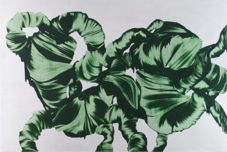 MARTIN POHL, o. T., Mischtechnik auf Leinen, 200x300cm