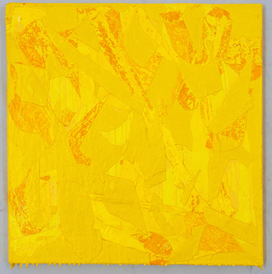 CHRISTINA ZURFLIH, Yellow in yellow, 2018-2019