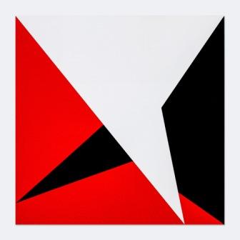 BARBARA HÖLLER, Copy 03, Acryl, Acryllack / Aludibond, 50x50cm, 2019