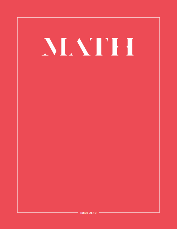 Math Magazine. Mackenzie Peck. New Wave Pornography. Body Positive Pornography.