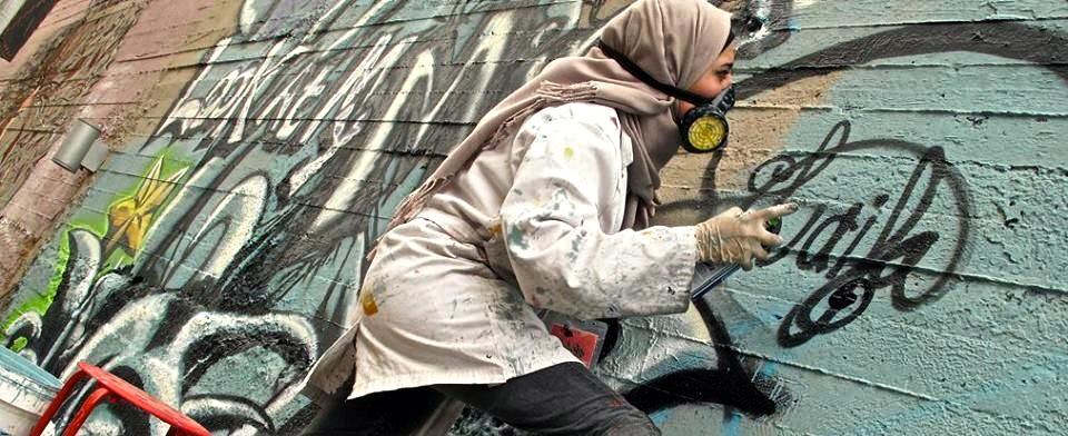 With Can and Candor: Feminist Graffiti in Irbid, Jordan