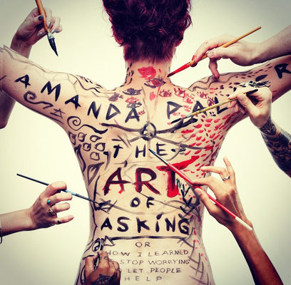 Amanda Palmer. The Art of Asking. Crowdfunding. The Dresden Dolls