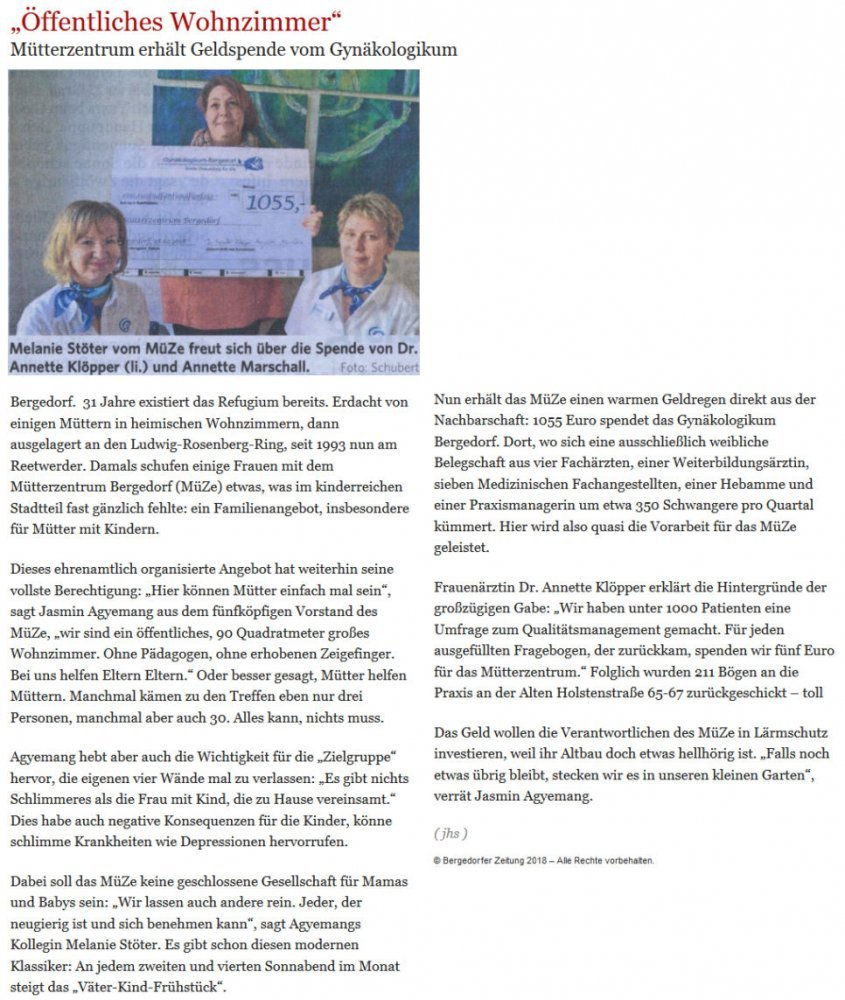 Bergedorfer Zeitung 03.03.2018