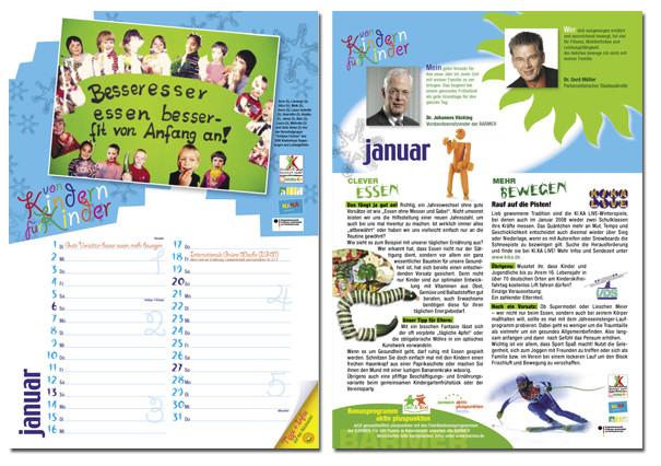 BARMER Jahreskalender Januar