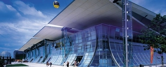 Deutscher Pavillion - EXPO 2000