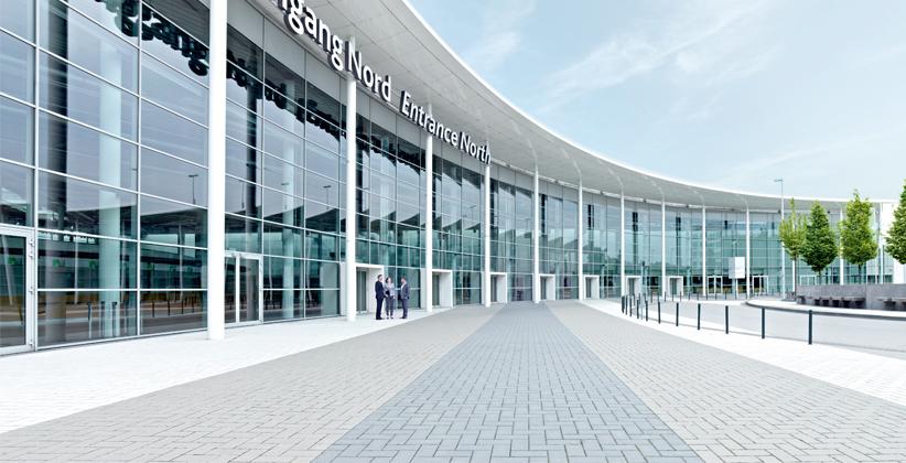 Messe Köln - Nordeingang