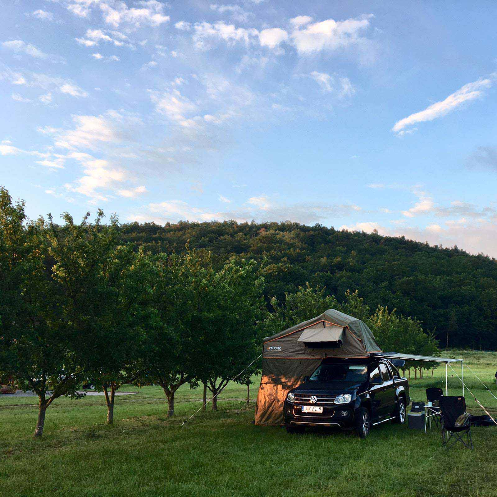 CAMPJunkie Dachzelt auf VW Amarok
