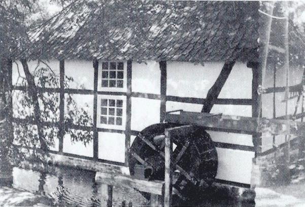 Die Ölmühle nach der Wiederherstellung.