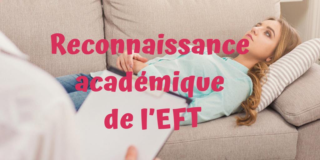 Reconnaissance académique de l'EFT