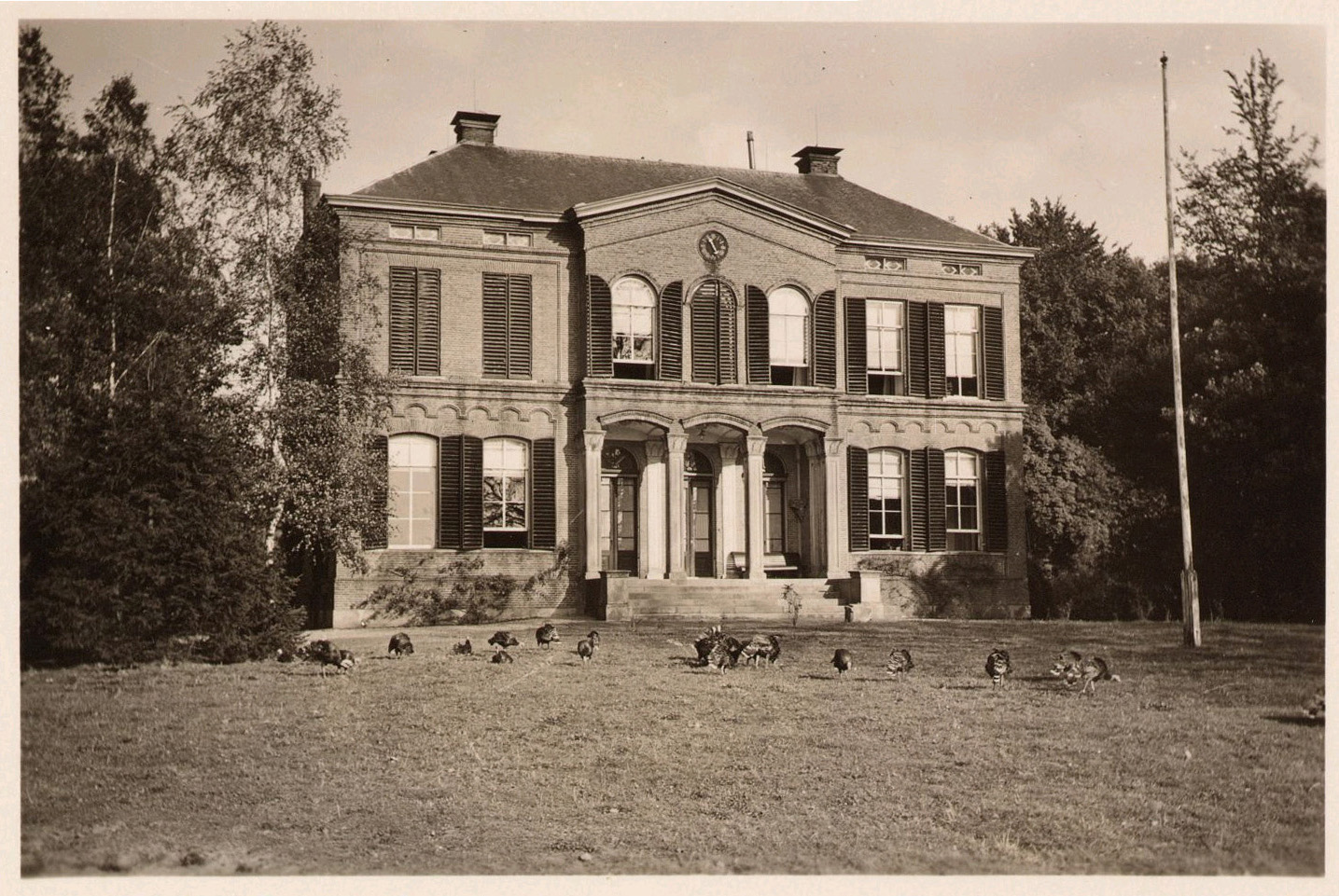 De Wientjesvoort op een foto uit circa 1920.
