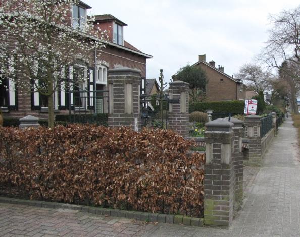 Bunschoten, Nijkerkerweg, voorbeeld karakteristieke details