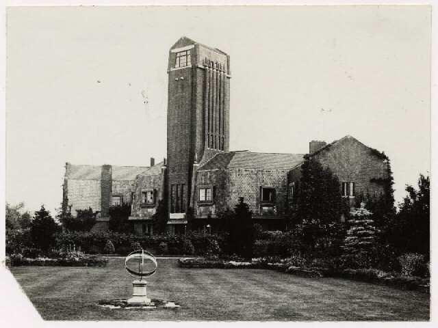 Foto van de villa Carp uit circa 1930.