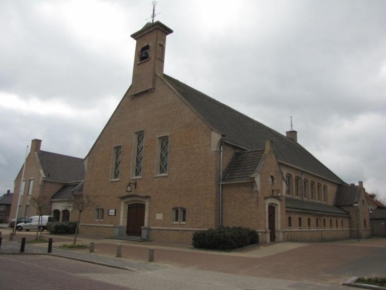 Bunschoten Maranathakerk, wederopbouwkerk aan de Prinses Margrietstraat