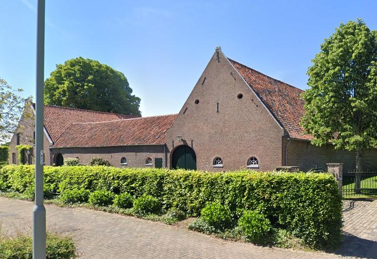 De Kloosterhof, zuidgevel.