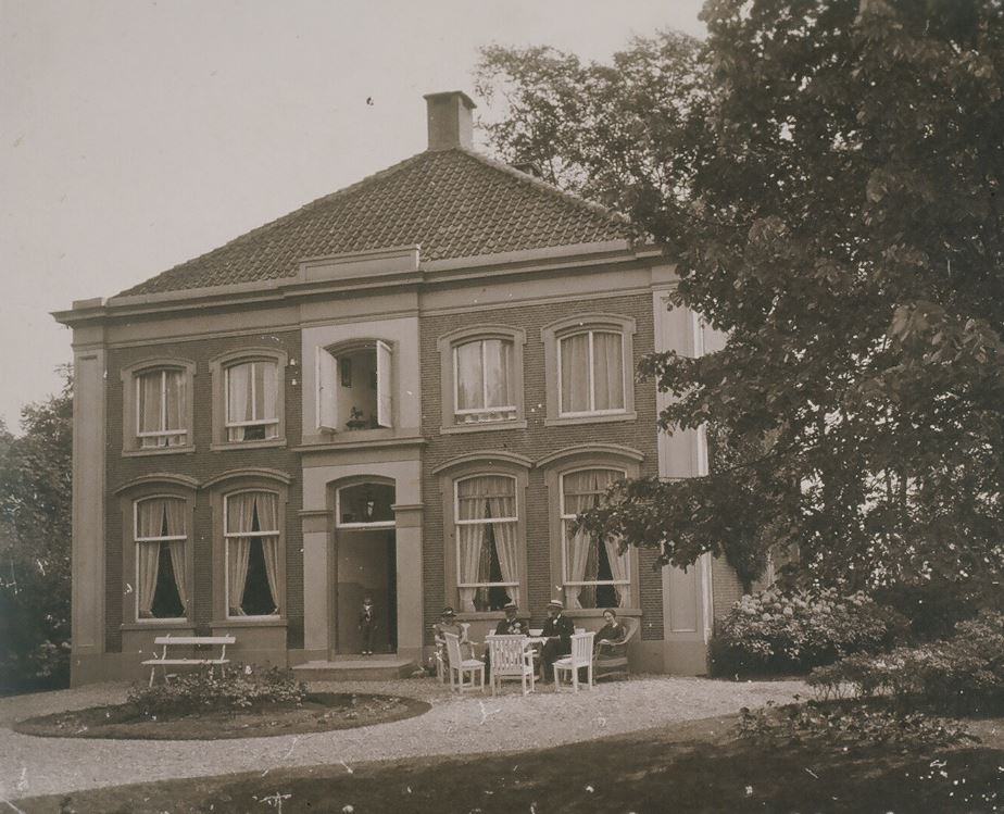 Oude foto uit circa 1920