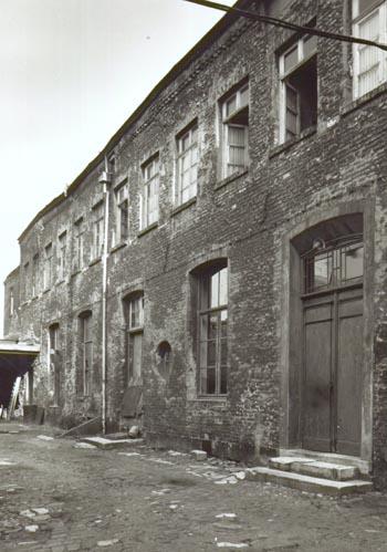 Noordgevel van de zuidoostvleugel, anno 1974 (beelbank RCE).