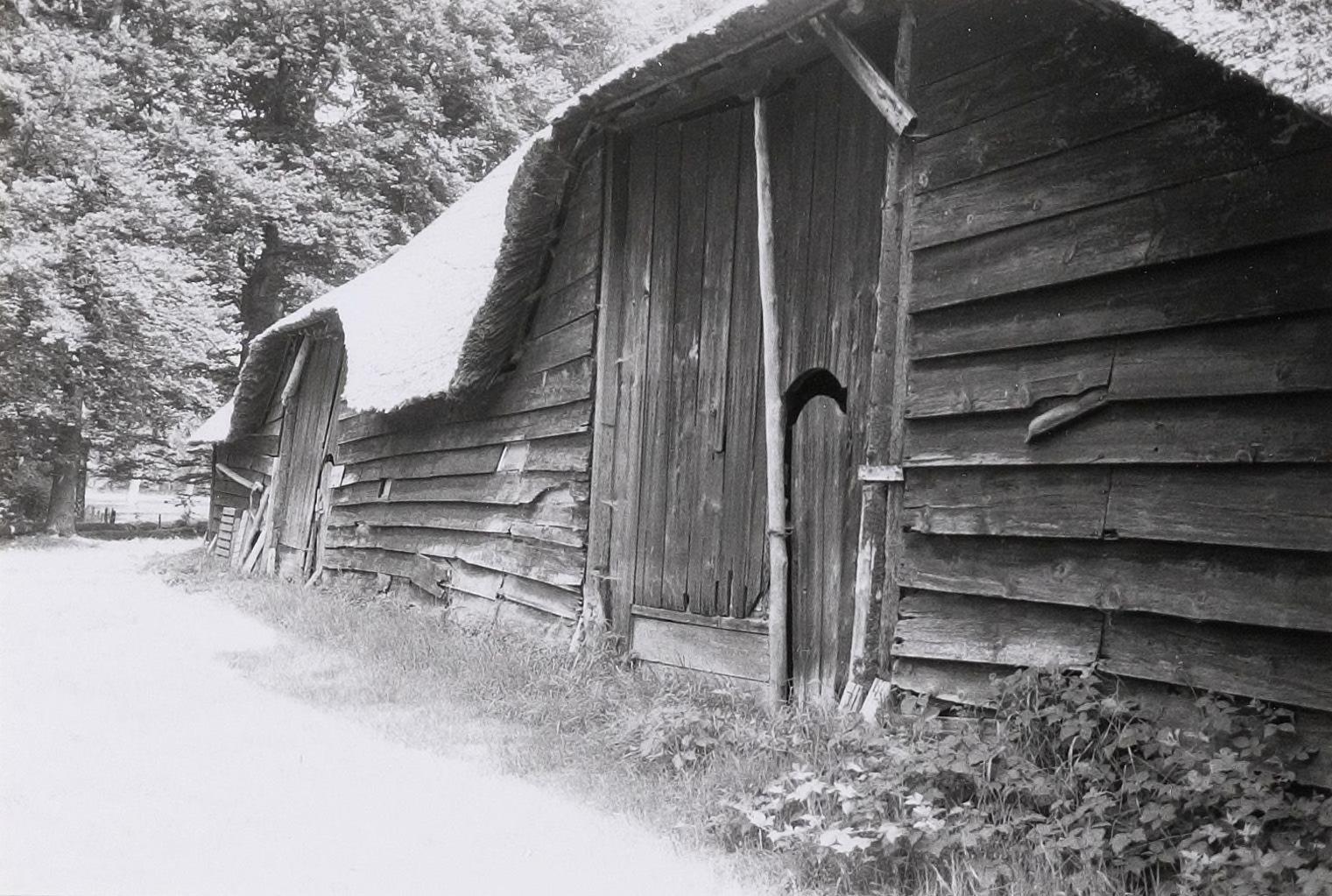 De schuur vóór de restauratie van 1997 (foto: beeldbank RCE).