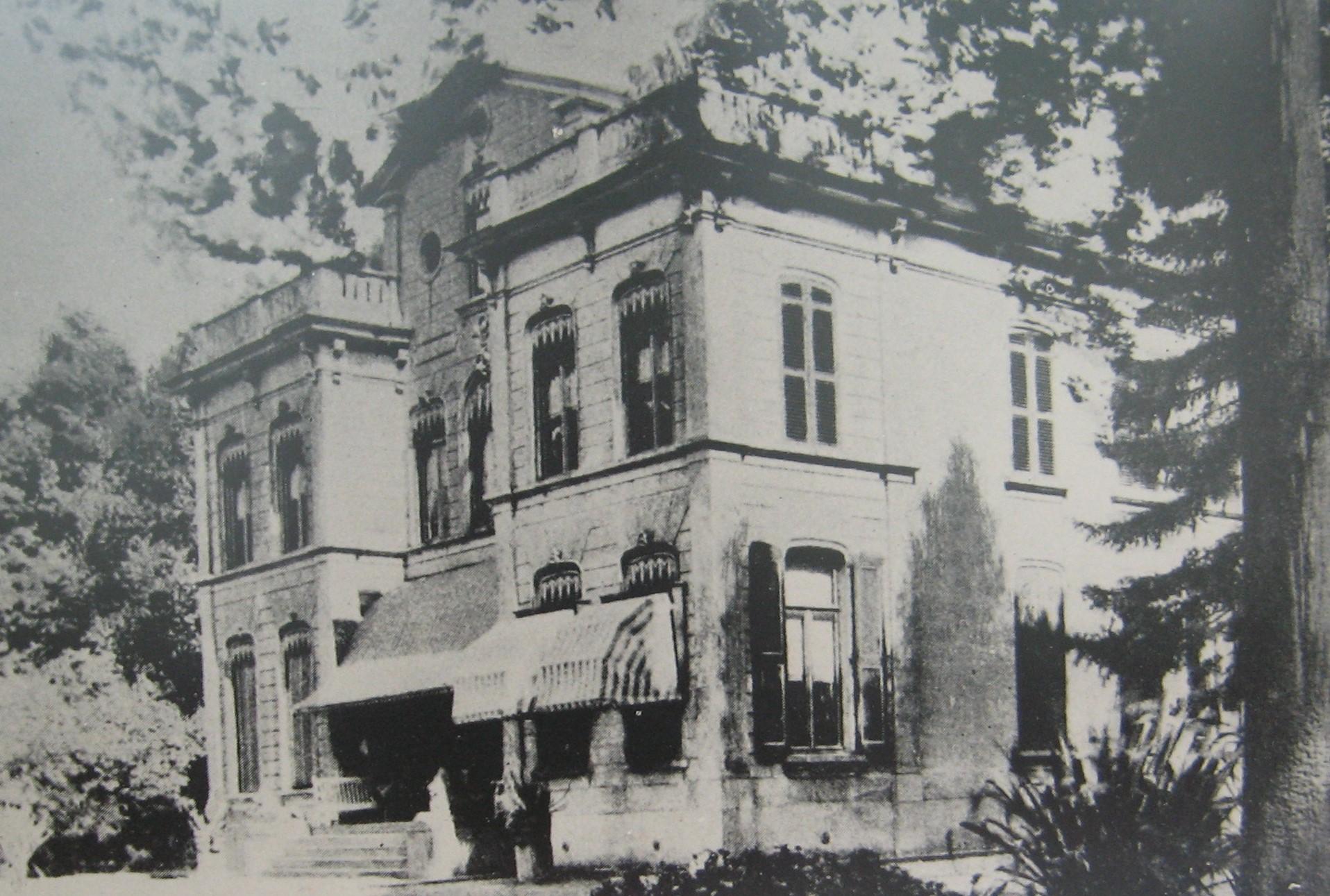 Foto van Nieuw IJpelaar rond 1900.