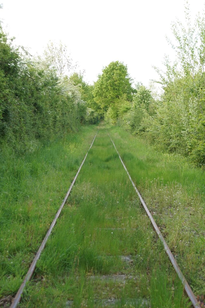 voie ferrée toujours O.P.
