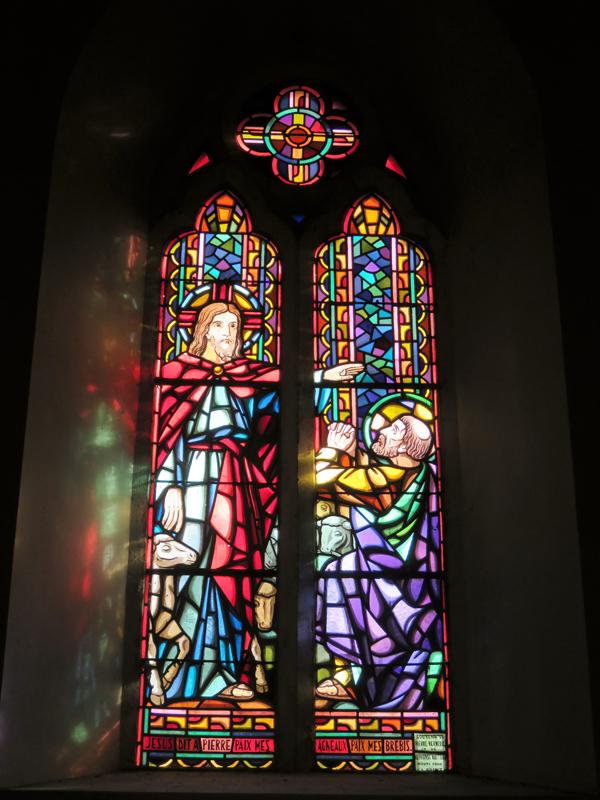 Jésus dit à Pierre Paix mes agneaux Paix mes brebis